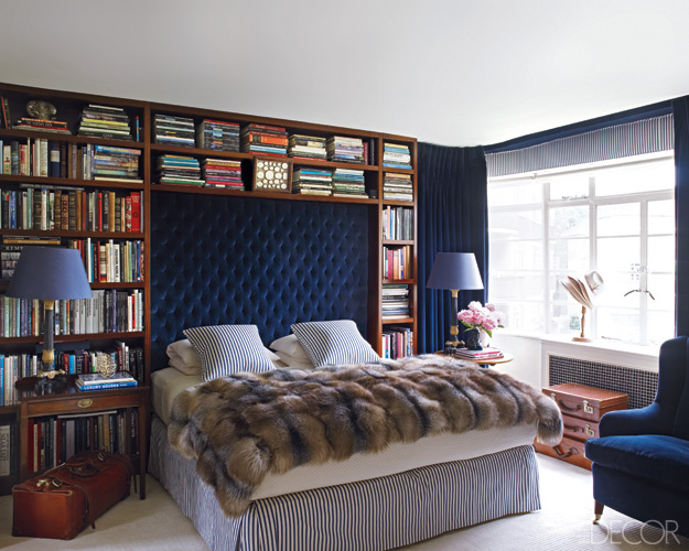 Elle Decor Via Master Cl Jpd School Of Design I M Not Advocating Fur Throws But Do Love This Bedroom Otherwise