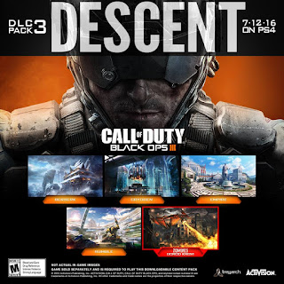 Call Of Duty Black OPS III Descent DLC Full Version PC Game 2016