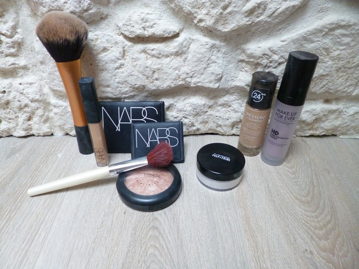 maquillage teint débutant