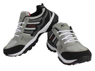 Earton Mens Grey EVA Sports Outdoor Shoes
