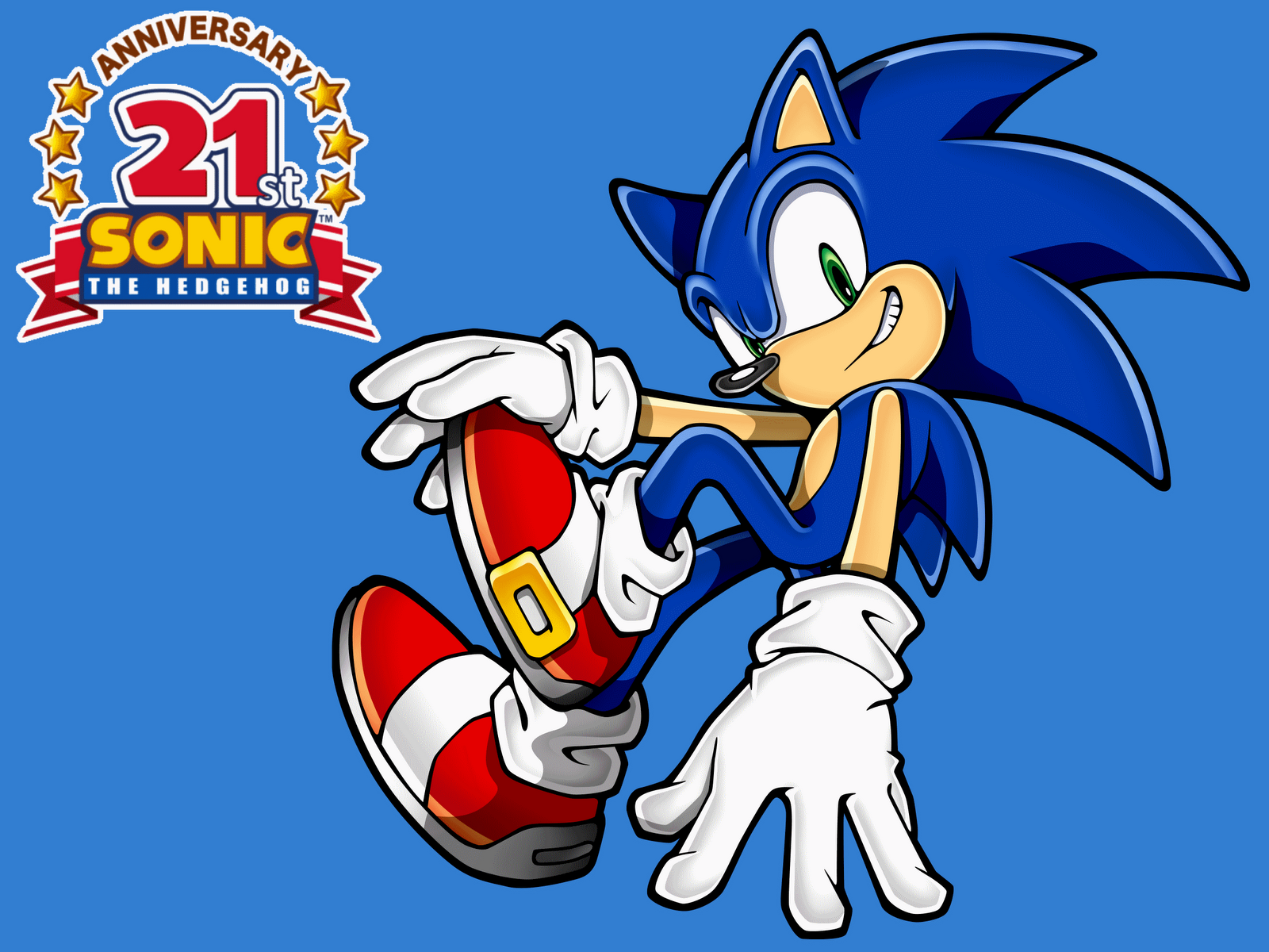 Gaming Rocks On Happy 21st Birthday Sonic The Hedgehog
