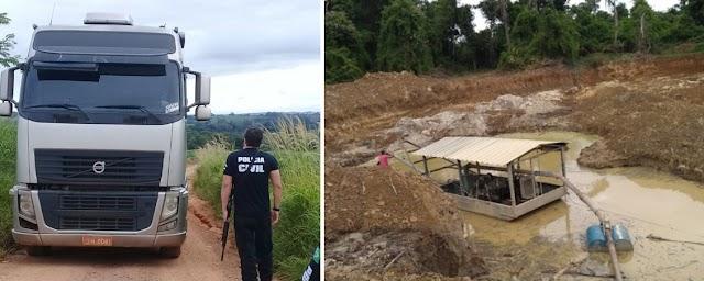Operação contra crimes ambientais em Vianópolis