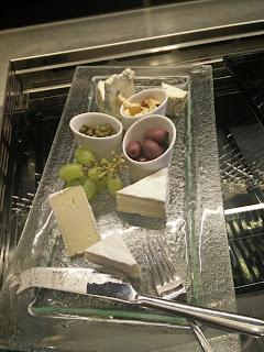 Hilton Tallinn Park Executive Lounge, juustoja