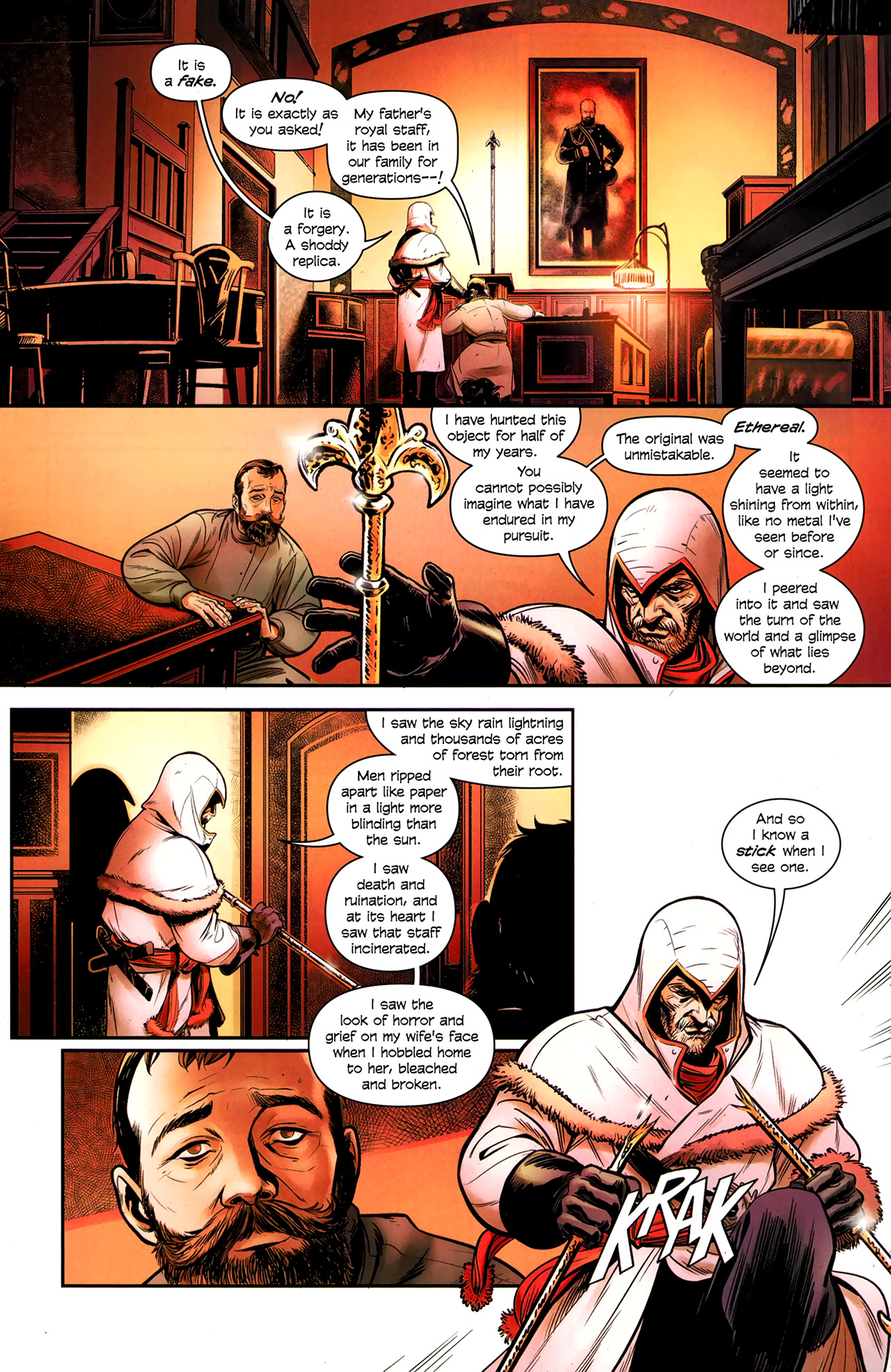 Read online Assassin's Creed: The Fall comic -  Issue #3 - 14