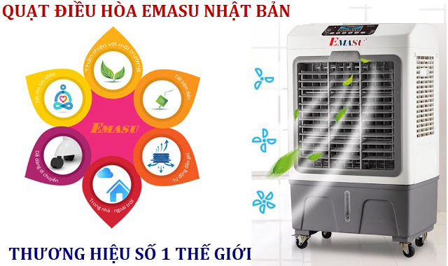 Thương hiệu uy tín-chất lượng hoàn hảo phải kế đến dòng máy làm mát Emasu mã EQ714, EQ714N, EQ688, EQ709 đến từ Nhật Bản