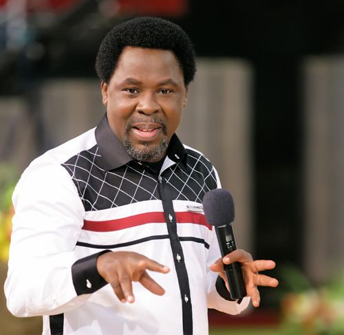 T.B Joshua explains vision he had about democracy in Nigeria
