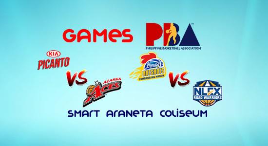 List of PBA Games: January 14 at Smart Araneta Coliseum 2017-2018 PBA Philippine Cup