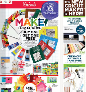 Michaels Flyer valid August 18 to 24, 2017
