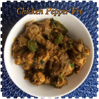 ⊱✿  Recipe Excavator ✿⊰: Chicken Pepper Fry