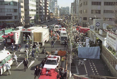 sarin gas attack by Aum Shinrikyo on the Tokyo subway system on March 20, 1995