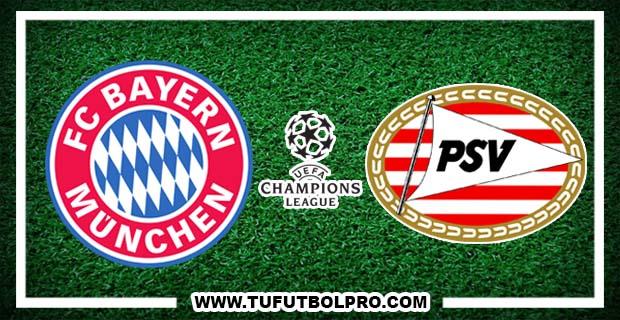 Ver Bayern Munich vs PSV Eindhoven EN VIVO Gratis Por Internet Hoy 19 de Octubre 2016