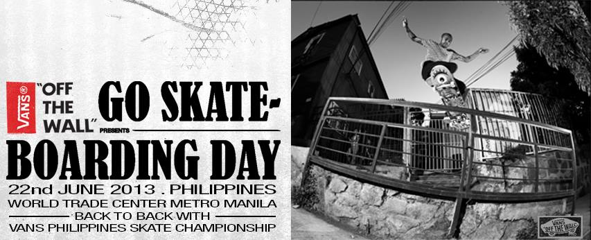 c2213e2b7284 Manila Shopper  Vans Go Skate Day 2013 + Vans Clearance SALE  June ...
