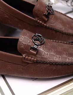 giày da nam giày lười Louis Vuitton