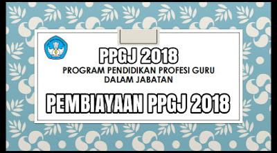 semua kali ini admin membagikan Tentang PEMBIAYAAN PPGJ 2018 (Tahun Pelajaran 2017/2018)