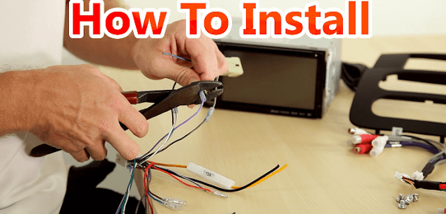 Cara Memasang Sistem Audio/Video Kamera Mobil Baru