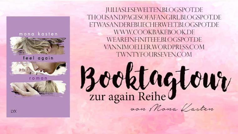 Booktagtour zu again-Reihe ab 5.6.