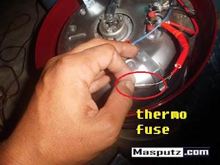 Cara Mengganti Thermofuse Pada Magic Com