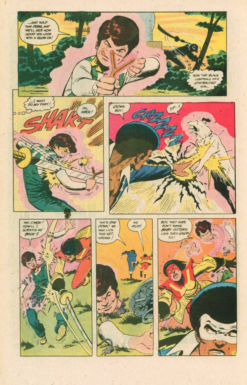 Read online Adventures of the Outsiders comic -  Issue #40 - 20