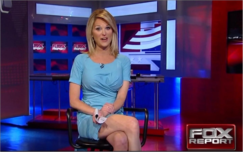 Fox news upskirt woman