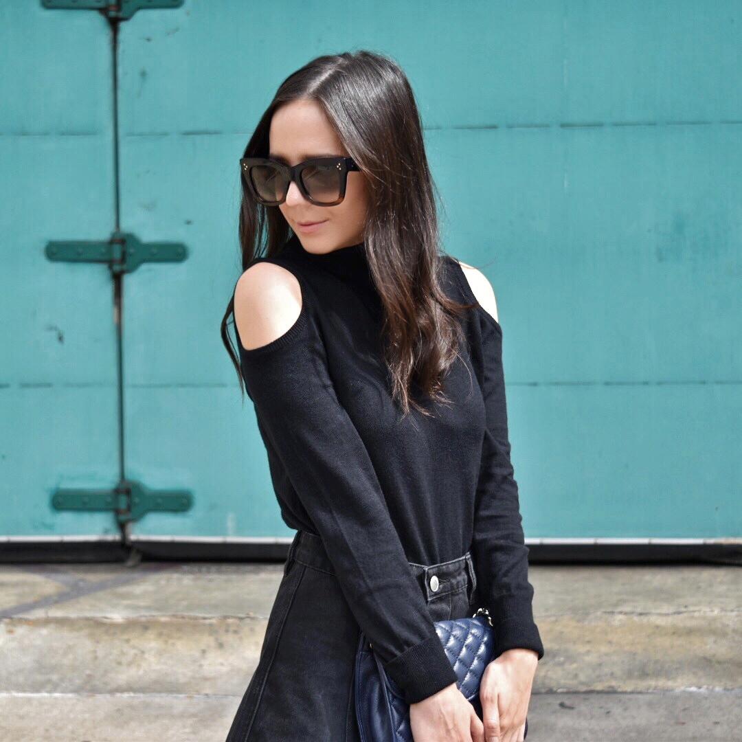 Women's Open Shoulder Tunic - Who What Wear