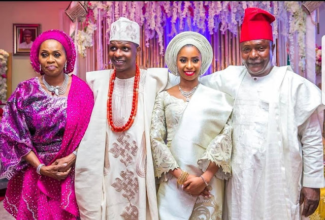 Image result for VP Osinbajo Walked His Daughter Down The Aisle At Her Wedding