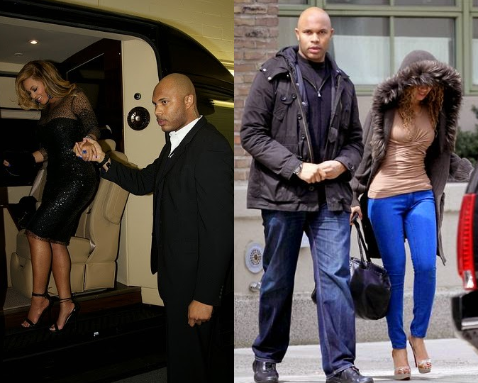Welcome to Linda Onu's Blog: Photos:Beyonce's closeness to bodyguard Julius sparks cheating rumours