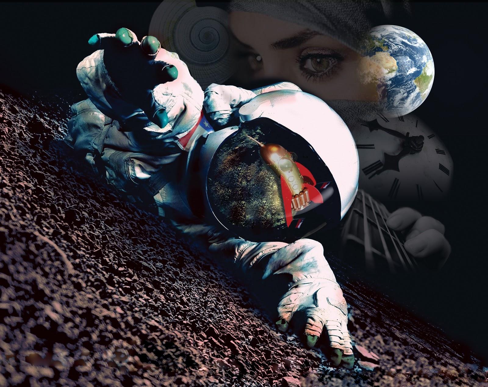 """Astronauta Flotando En El Espacio Exterior: Musica De Ignacio Figueroa: """"Astronauta Sinaire"""": Una"""