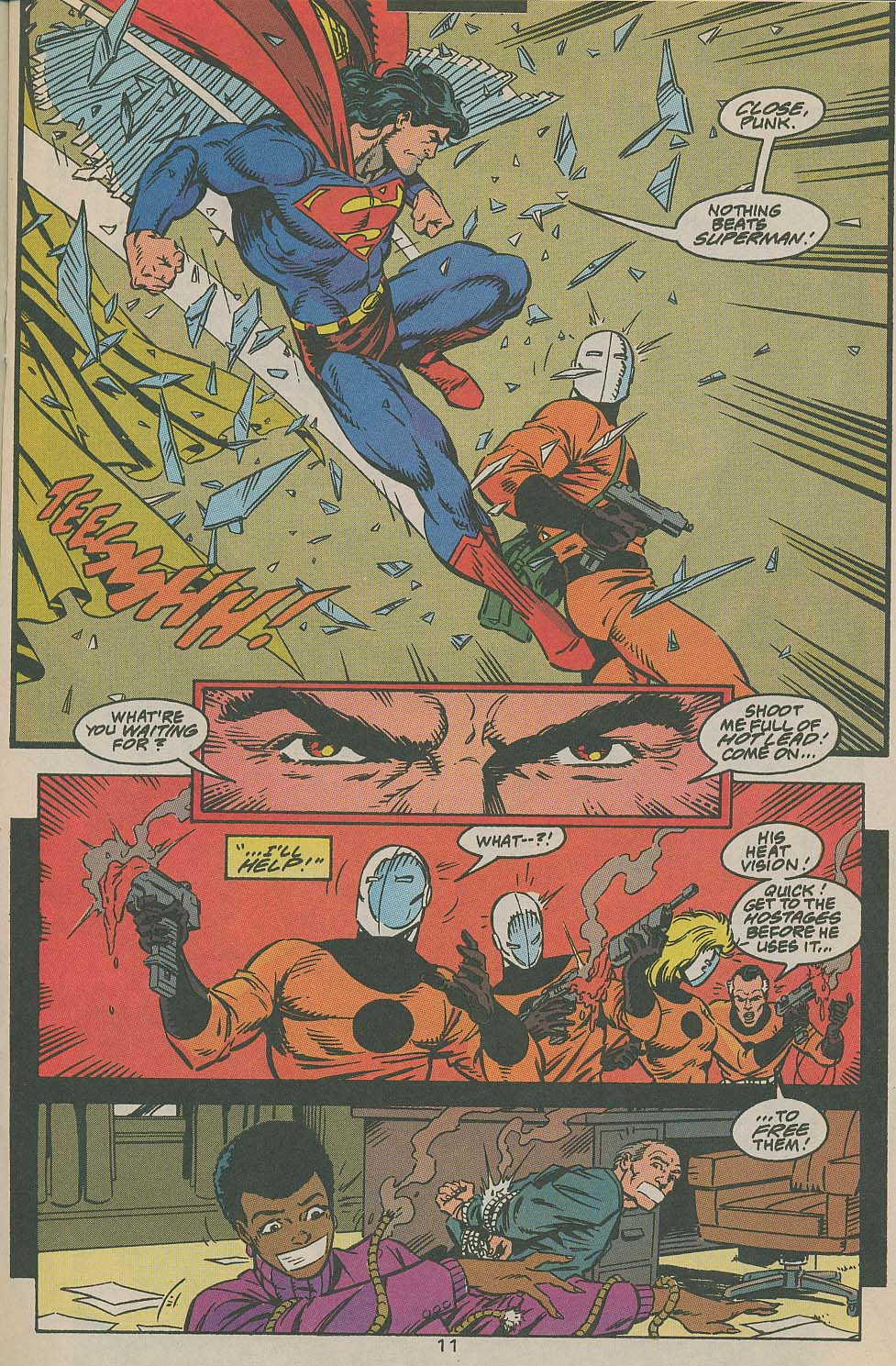 Read online Adventures of Superman (1987) comic -  Issue #505 - 12