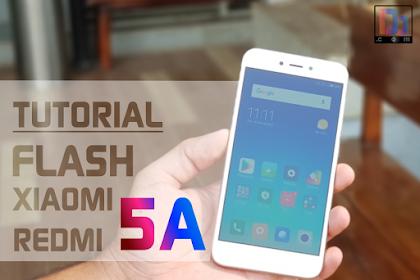Tutorial Flash Miui 9 di Hp Xiaomi Redmi 5A dengan Mi Flashtool