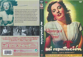 Carátula dvd: Mi reputación,  (1946) My Reputatión