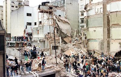 Secuelas dejadas por el atentado del 18 de julio de 1994Reuters