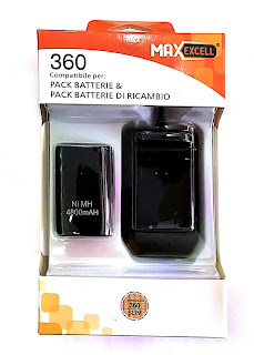 batteria xbox 360 maxexcell 4800mah