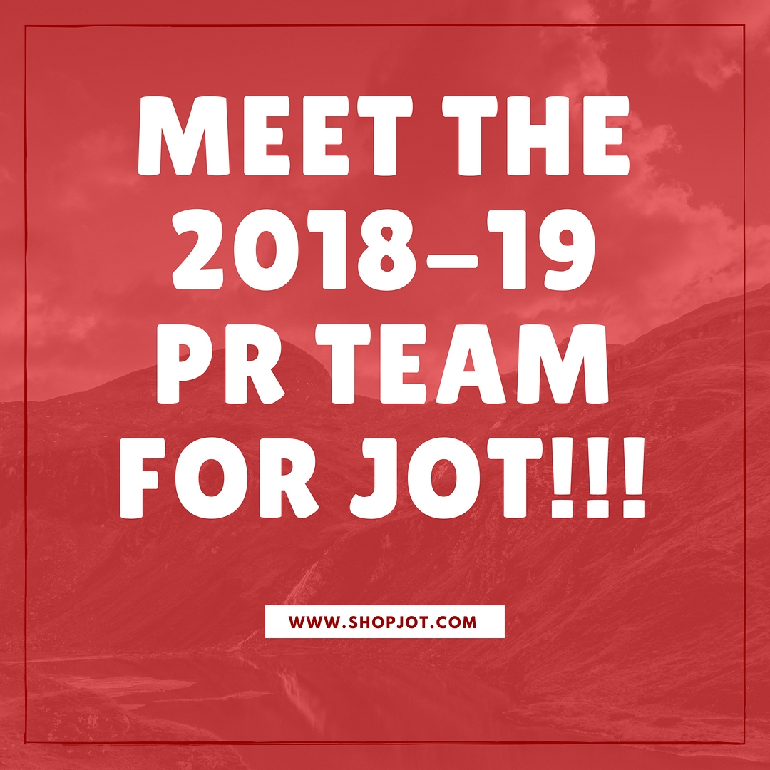 PR team for JOT