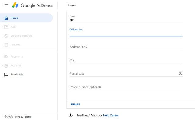 Google-adsense-payment-details
