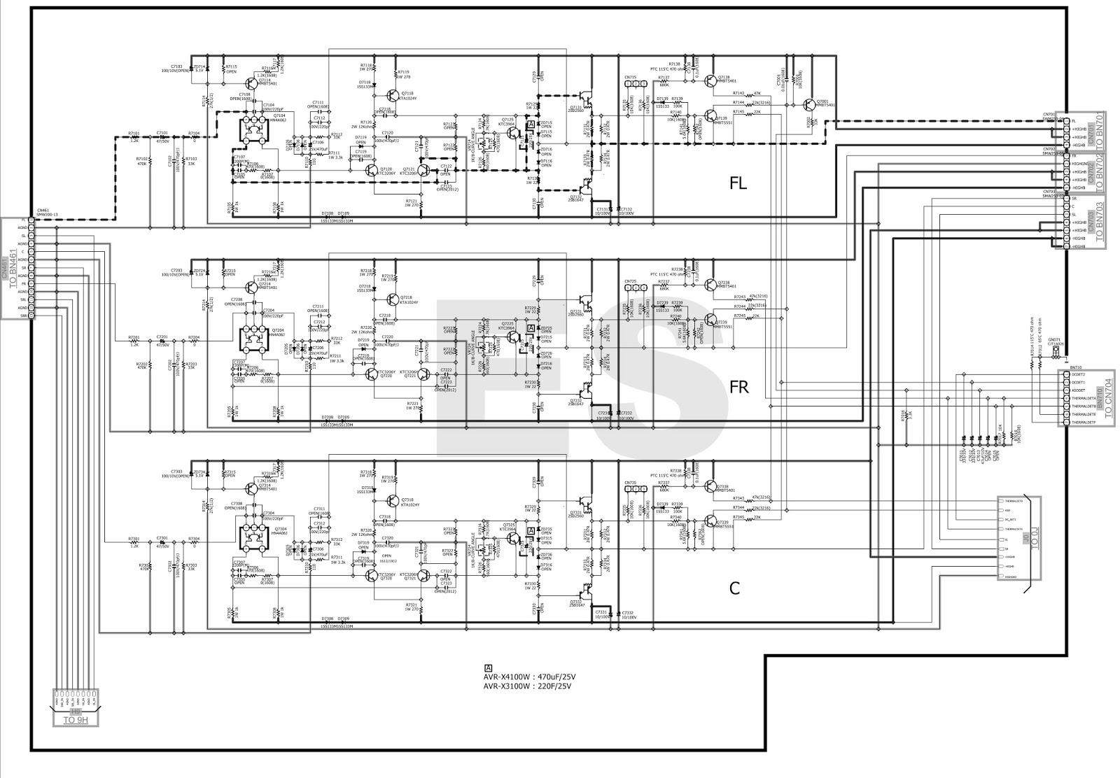 Electronic Equipment Repair Centre Denon Avr X W Idle