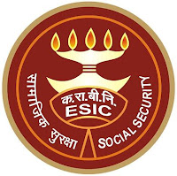 ESIC, Employees' State Insurance Corporation, Gujarat, 10th, MTS, LDC DEO, Clerk, Stenographer, freejobalert, Latest Jobs, Hot Jobs, esic gujarat logo