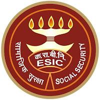 ESIC, Employees' State Insurance Corporation, Gujarat, 10th, MTS, LDC DEO, Clerk, Stenographer, freejobalert, Latest Jobs, Hot Jobs, esic gujarat logo