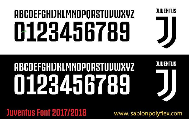 Font Jersey Juventus 2017/2018
