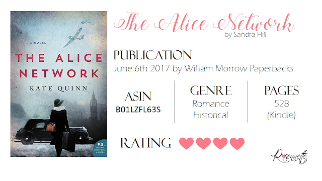 #BookReview: The Alice Network by Kate Quinn