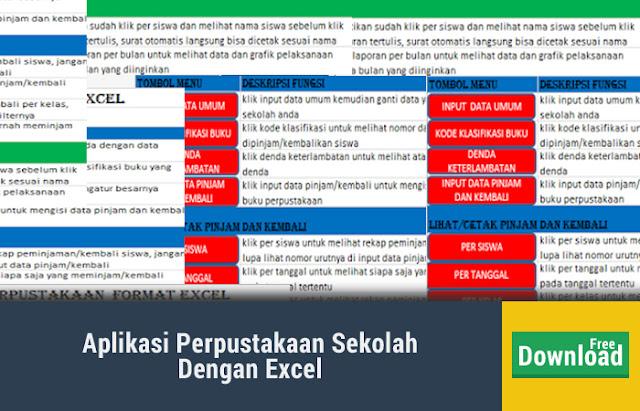 Aplikasi Perpustakaan Sekolah Dengan Excel