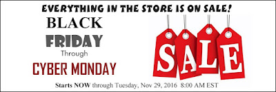 Crazy Quilt Girl Fabric Shop Black Friday through Cyber Monday Sale!