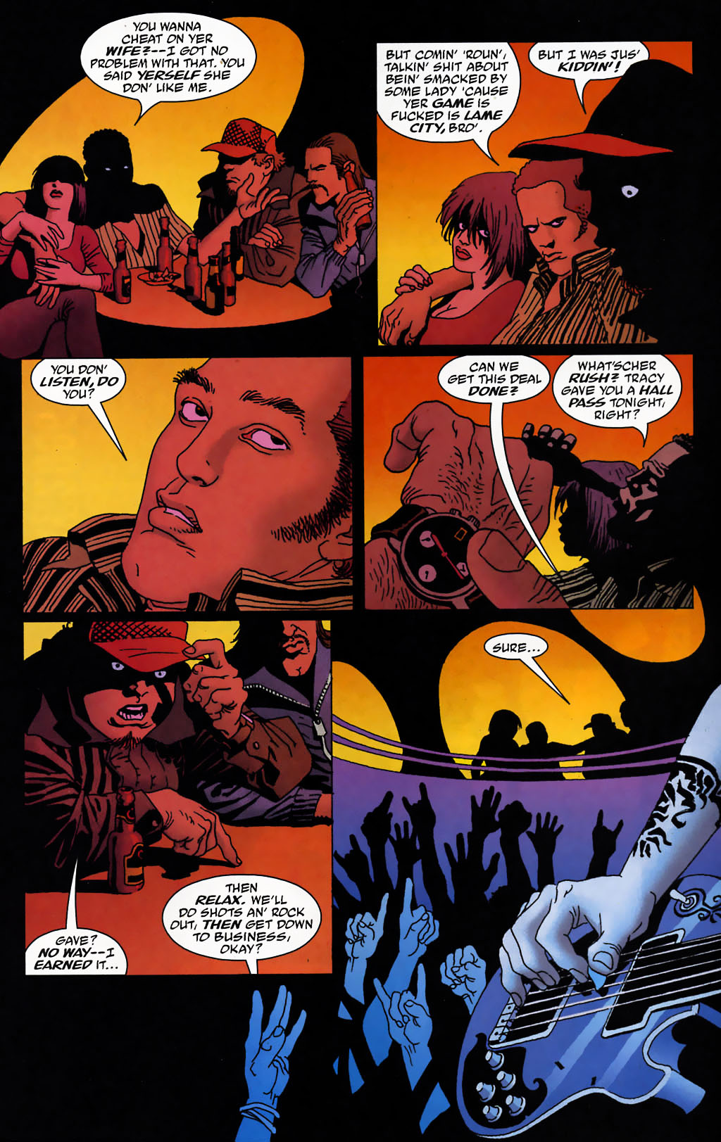 Read online 100 Bullets comic -  Issue #72 - 8