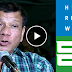 Watch: President Duterte, galit na galit na binanatan ang Human Rights Watch at simbahan