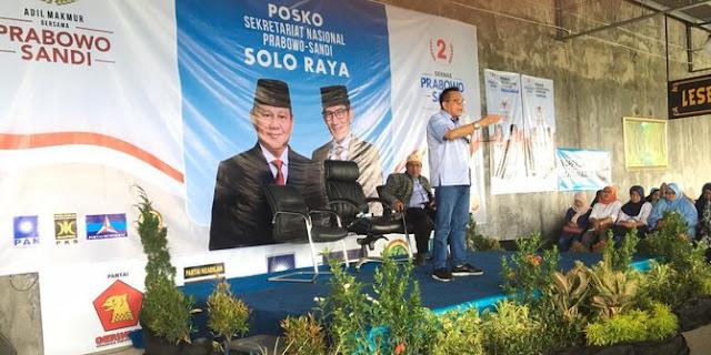 Seknas Prabowo Yakin Posko di Jateng Bakal Gerus Suara Jokowi