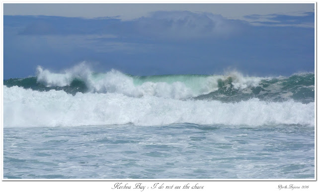 Keokea Bay:  I do not see the chaos