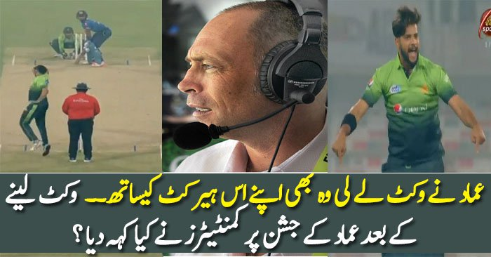What Commentators Said On Imad Waseem Wicket