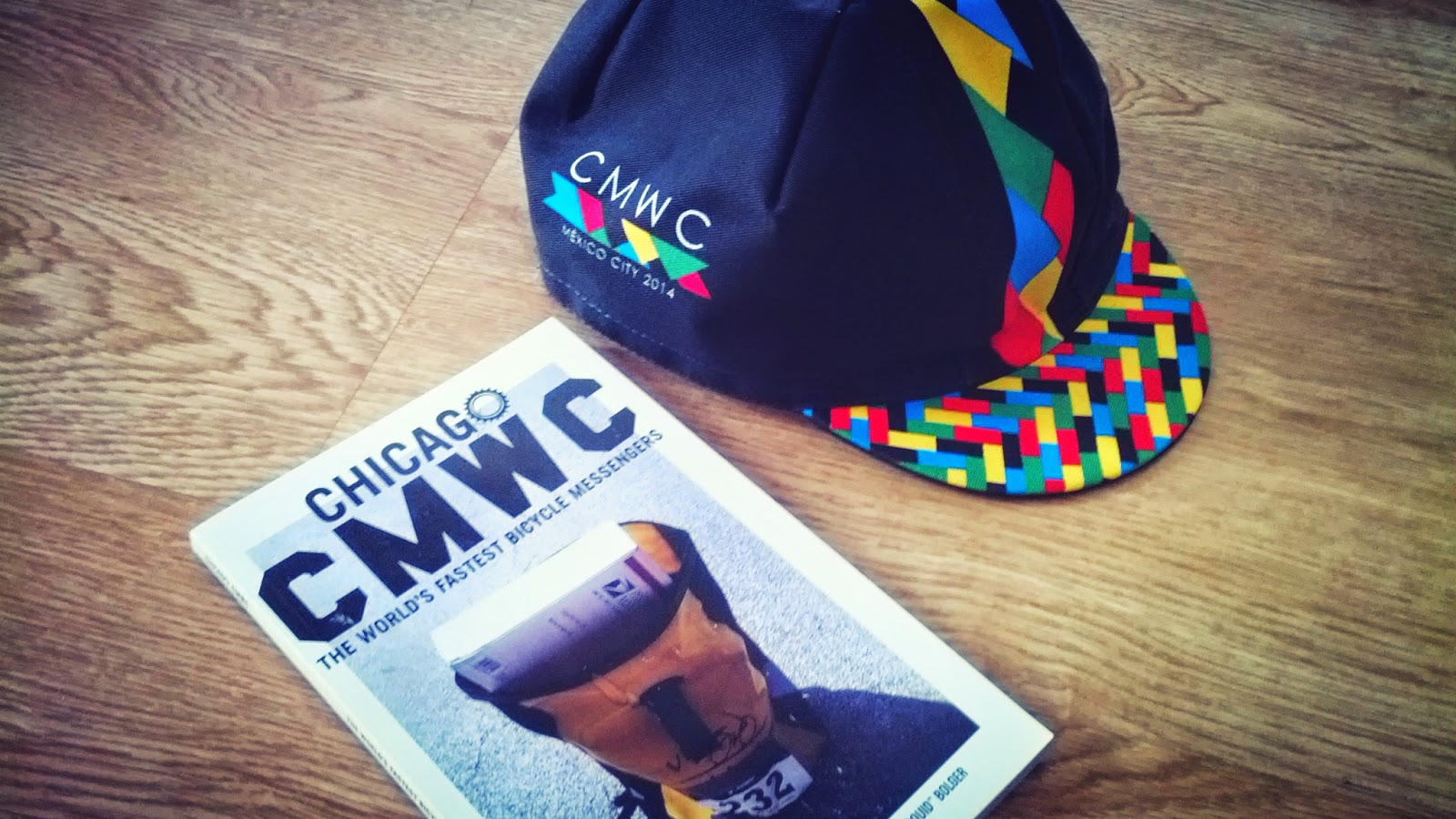 CMWC: Mexico 2014 Cycling cap by Cinelli & Chicago Book
