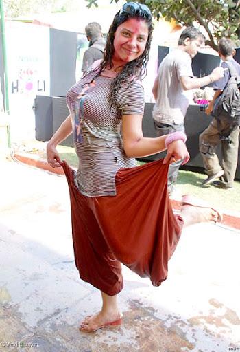 Holi Goes Hot - Tv Actresses Holi Celebration  Hot -2176