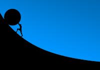 uphill image