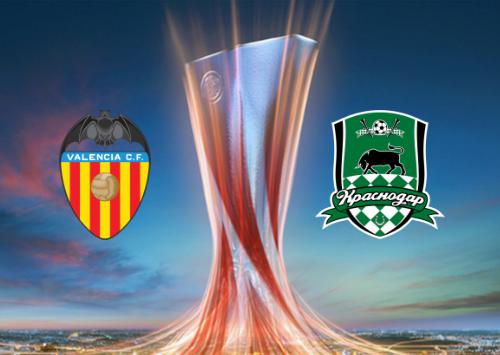 Valencia vs FC Krasnodar - Highlights 7 March 2019